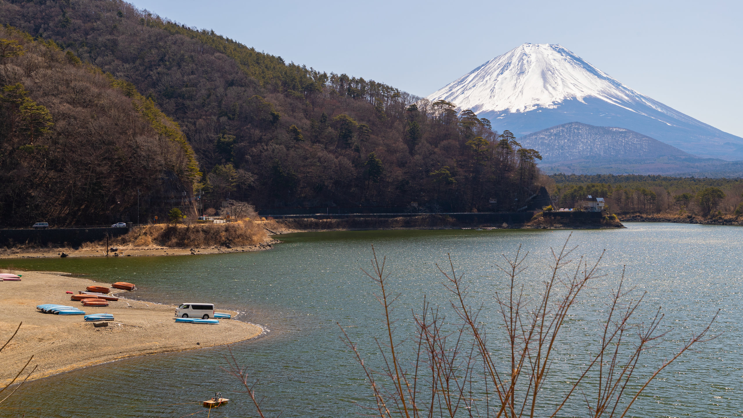 See Shōji-ko, Fujikawaguchiko, Präfektur Yamanashi, Japan