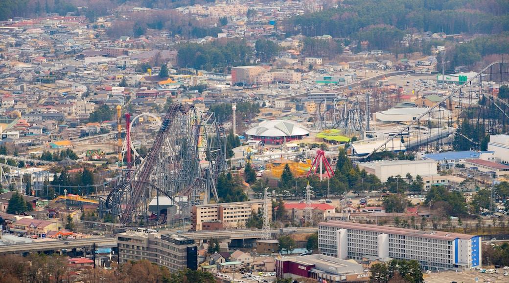 Mt. Kachi Kachi Ropeway featuring a city and landscape views