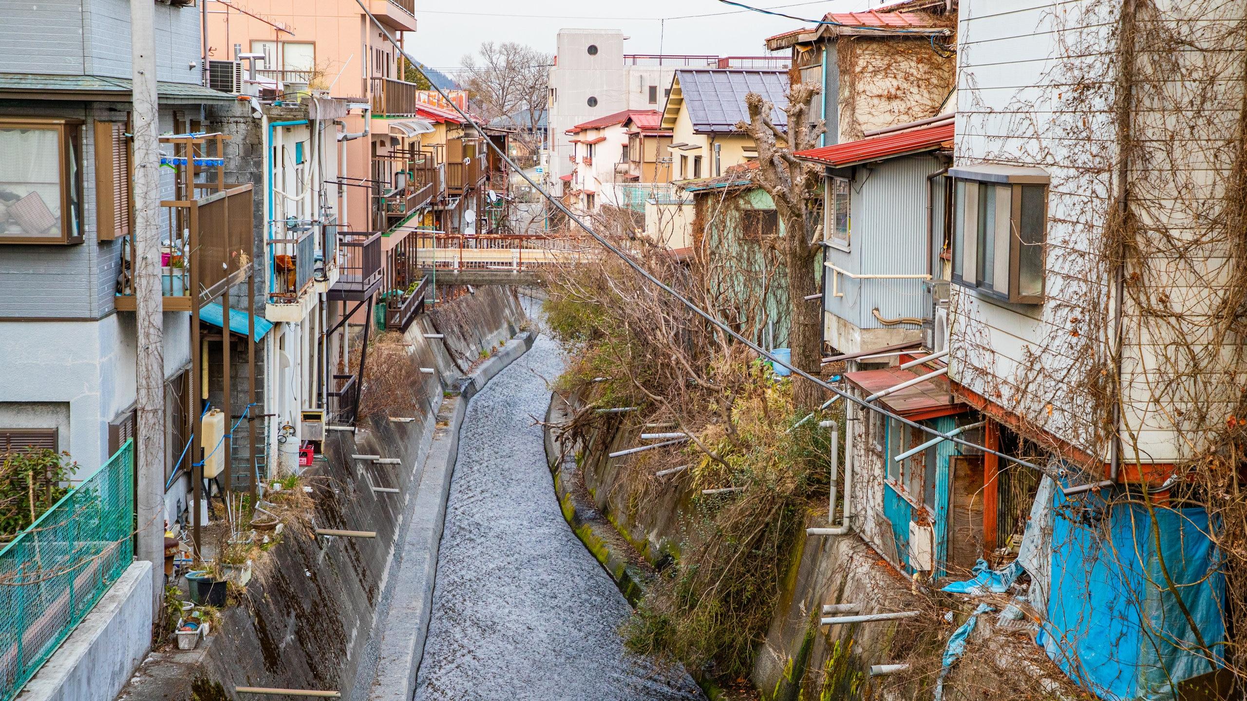 Fujiyoshida, Yamanashi (prefectuur), Japan