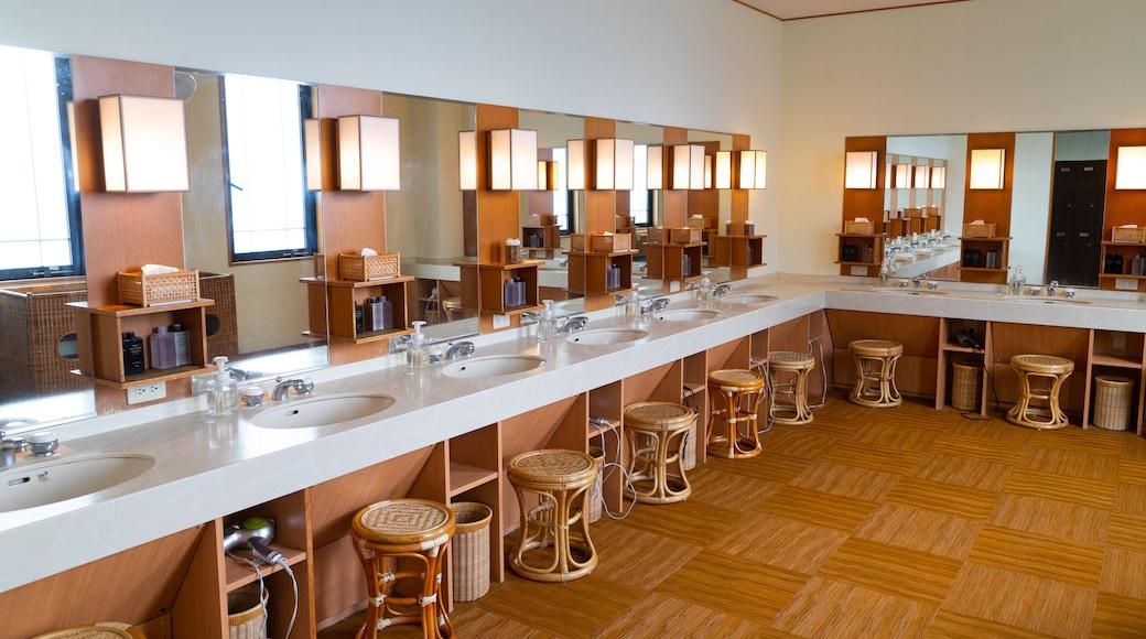 Hakone Kowakien Yunessun featuring interior views