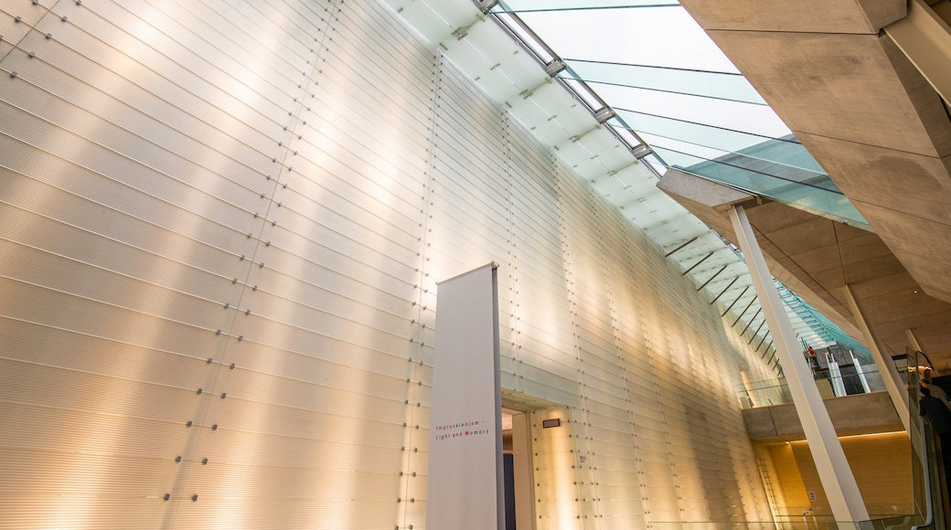 Pola Museum of Art showing interior views
