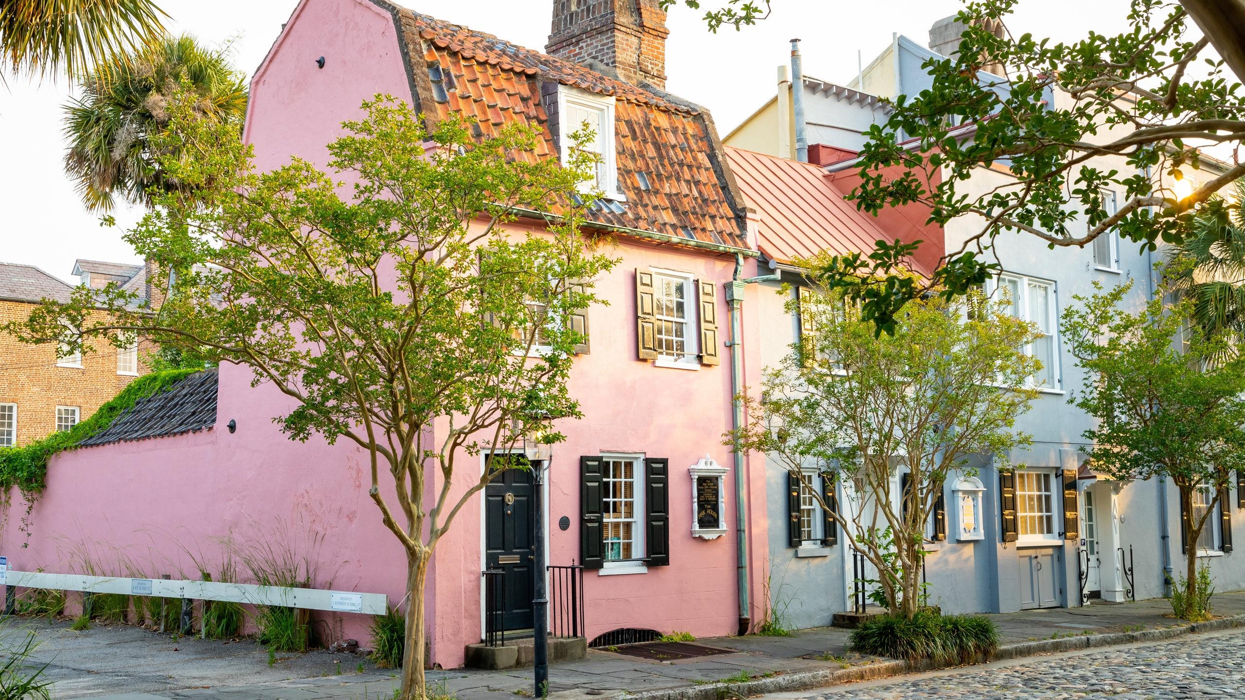 Pink House Gallery, Charleston, South Carolina, United States of America