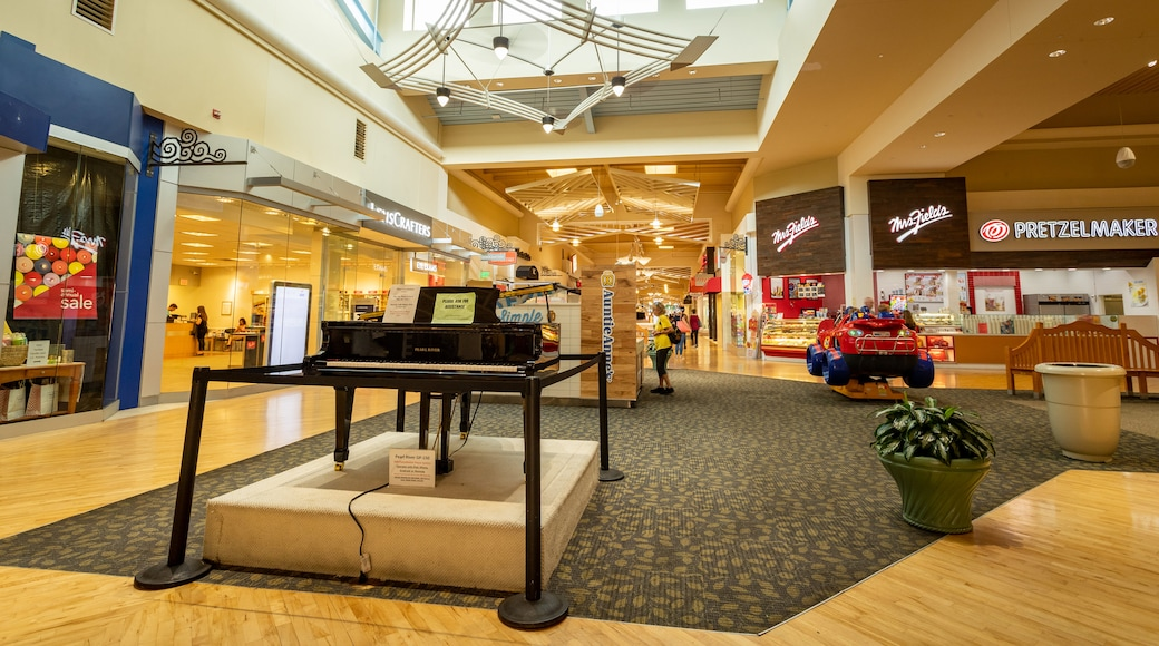 Coastal Grand Mall showing interior views and shopping
