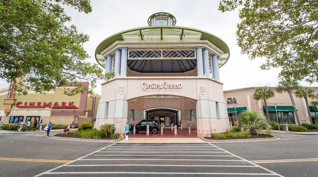 Coastal Grand Mall showing signage