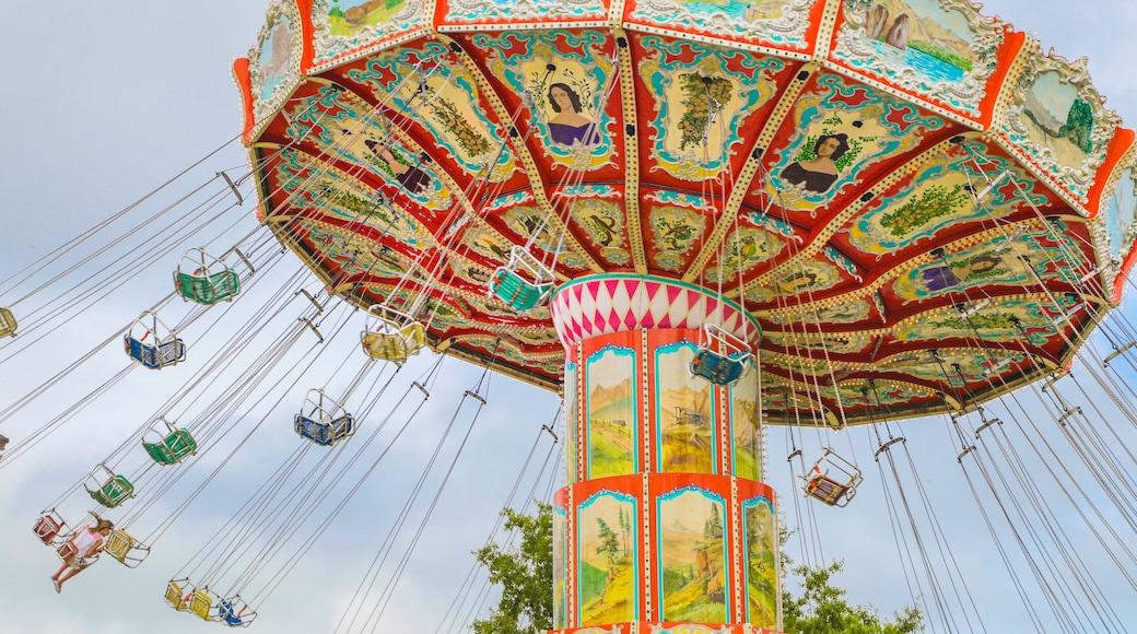 OD Pavilion Amusement Park which includes rides
