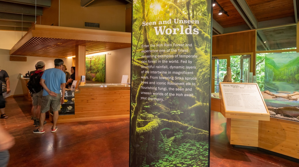 Hoh Rain Forest Visitor Center