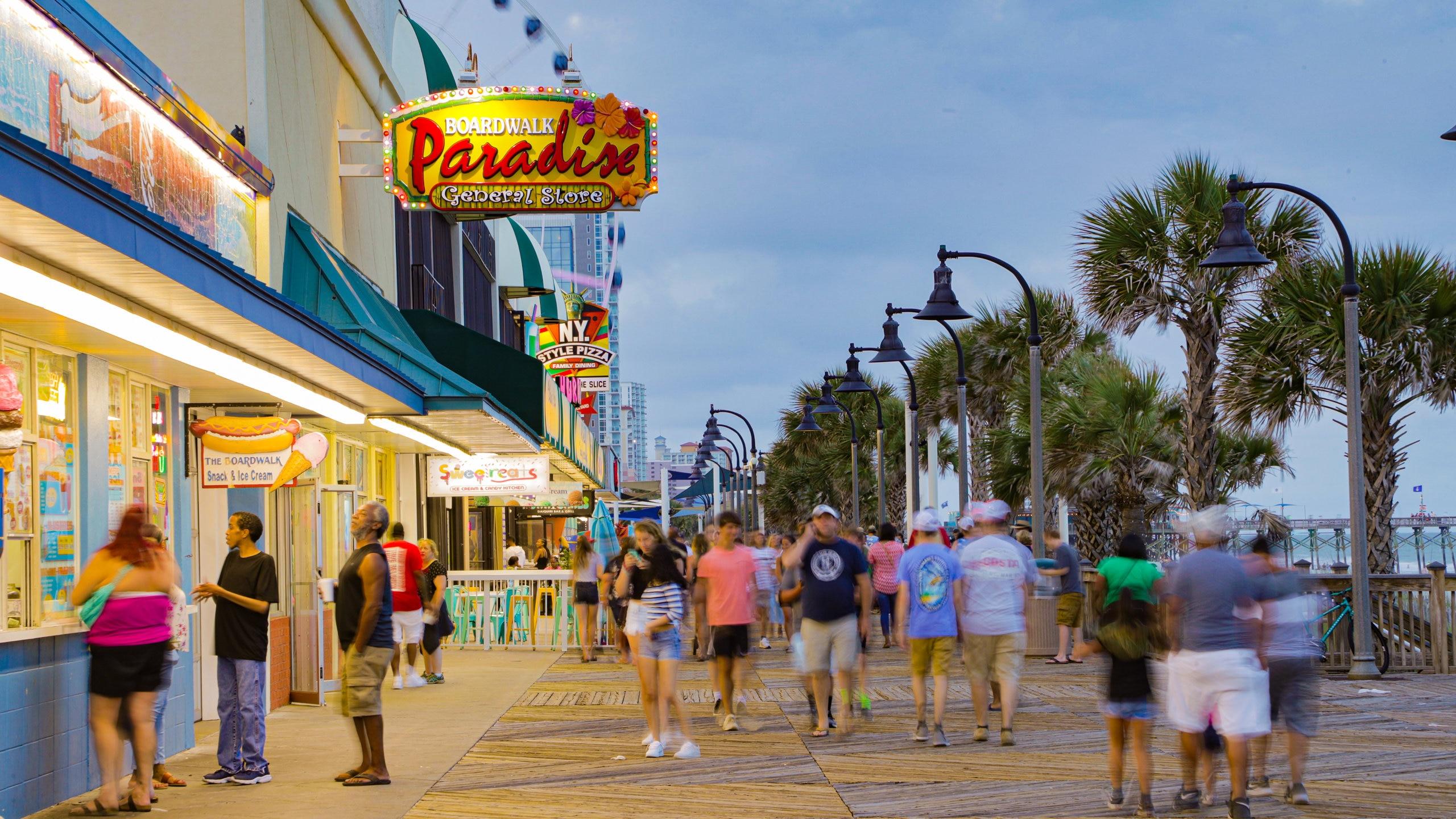 Myrtle Beach Boardwalk, Myrtle Beach, South Carolina, United States of America