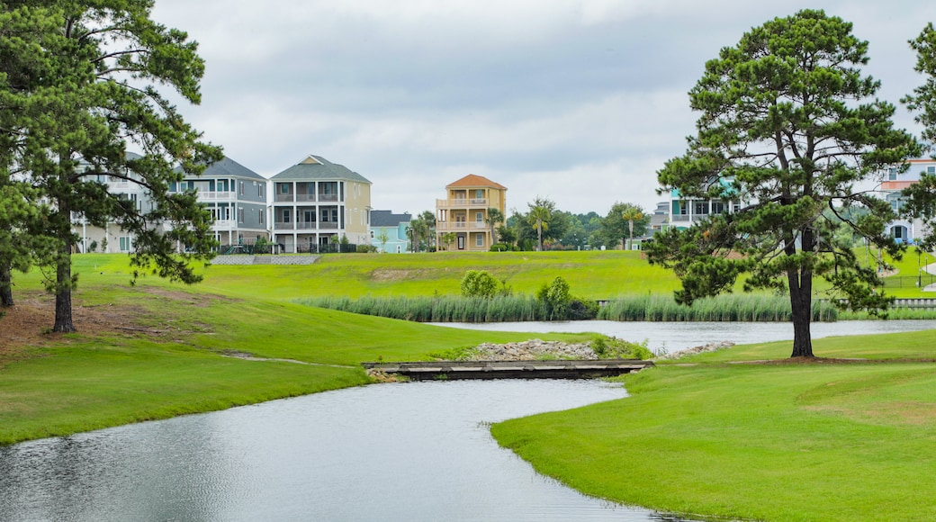 Myrtlewood Golf Club featuring golf and a river or creek