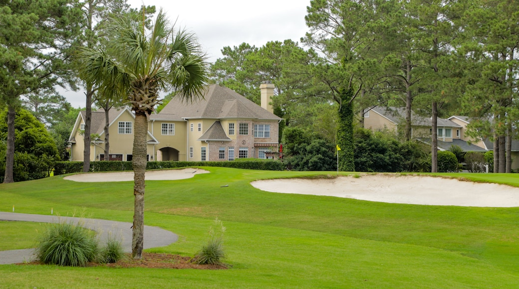 Myrtlewood Golf Club featuring a house and golf