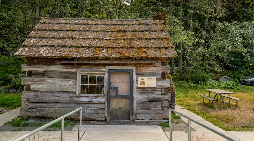 Olympic National Park Visitor Center which includes heritage elements