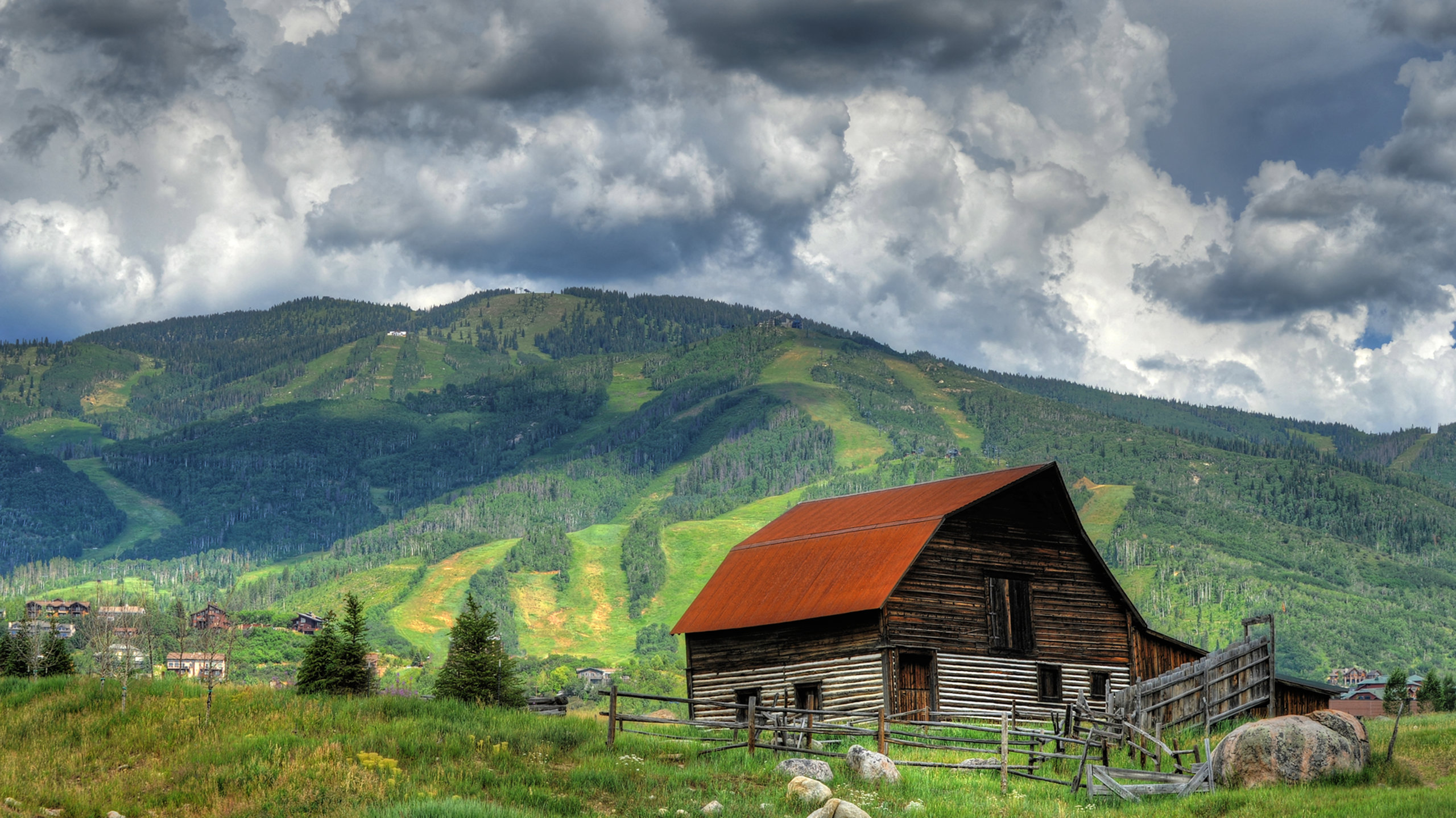 Old Town, Steamboat Springs, Colorado, USA