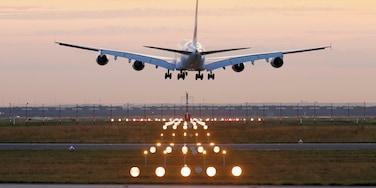 Flughafenbereich Frankfurt, Frankfurt, Hessen, Deutschland