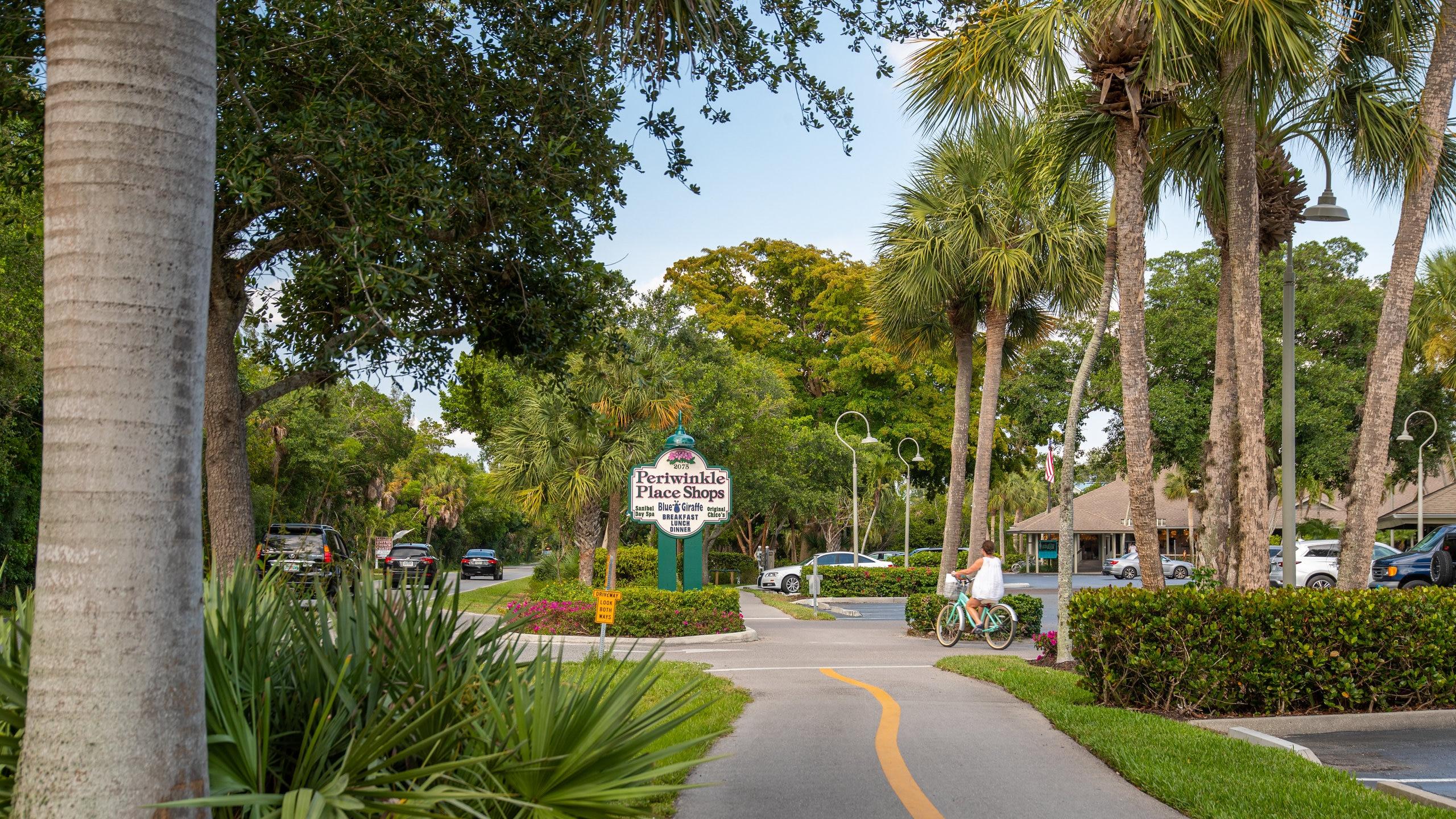 Periwinkle Way, Sanibel, Florida, United States of America