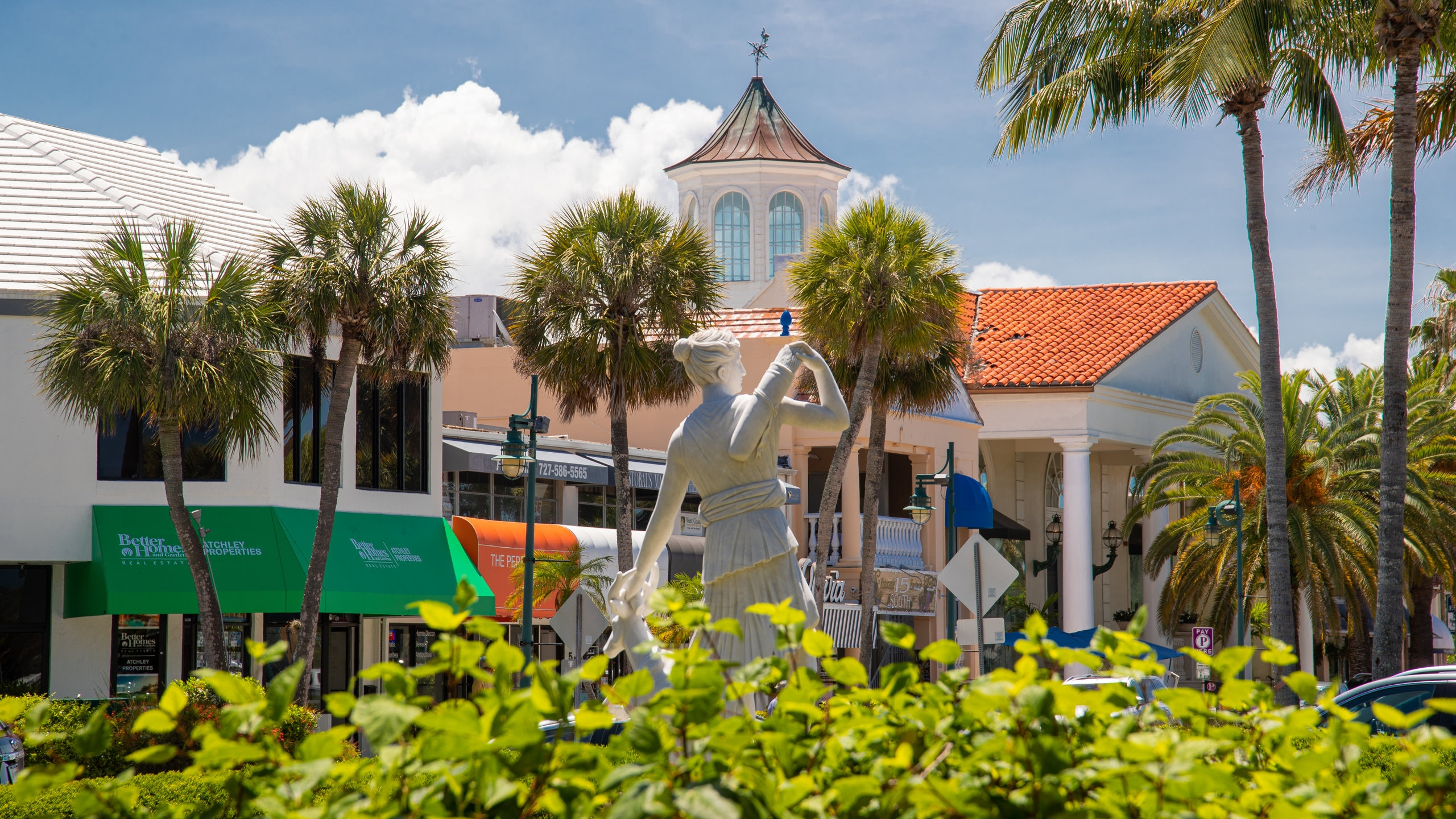 St. Armand's Key, Sarasota, Florida, USA
