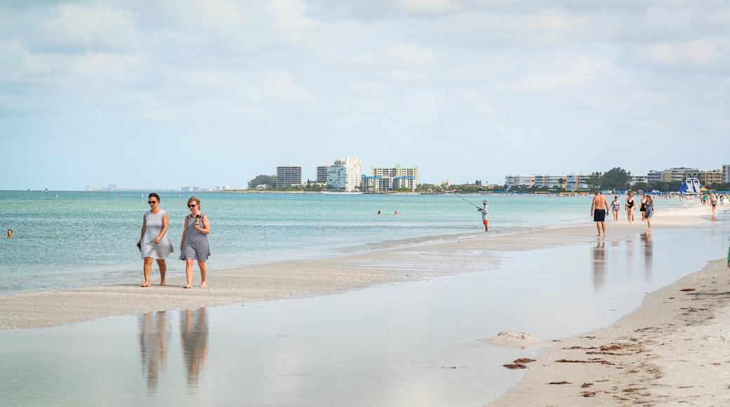 St. Pete Beach featuring general coastal views and a sandy beach as well as a couple