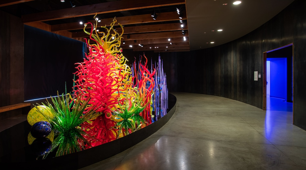 Chihuly Collection featuring art and interior views
