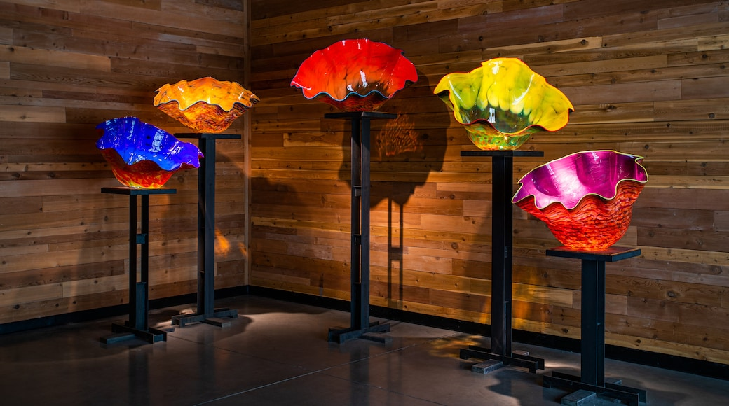 Chihuly Collection which includes art and interior views