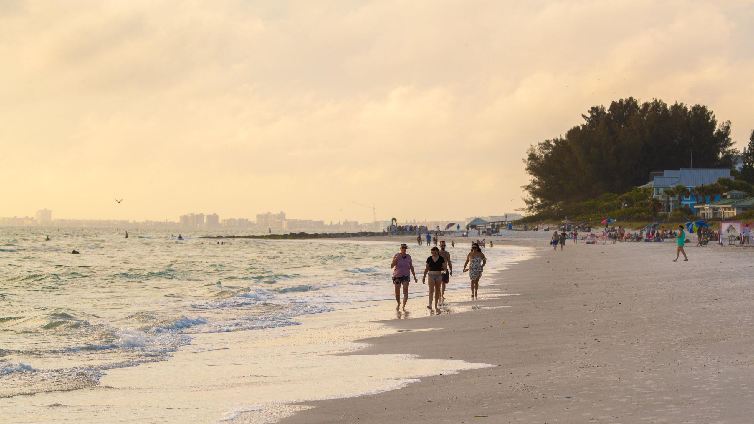 Sunset Beach, Treasure Island, Florida, USA