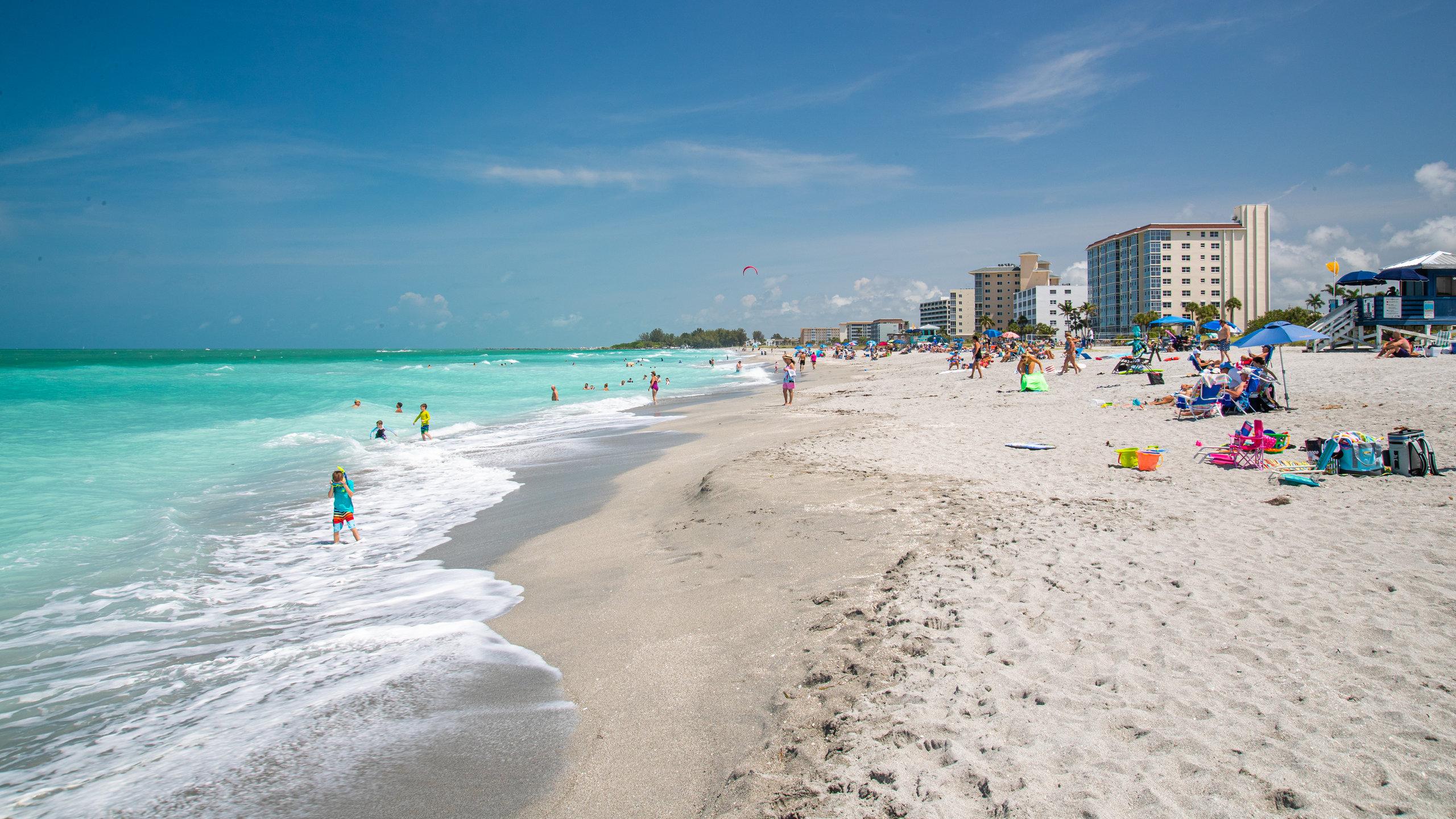 Venice Beach, Venedig, Florida, USA