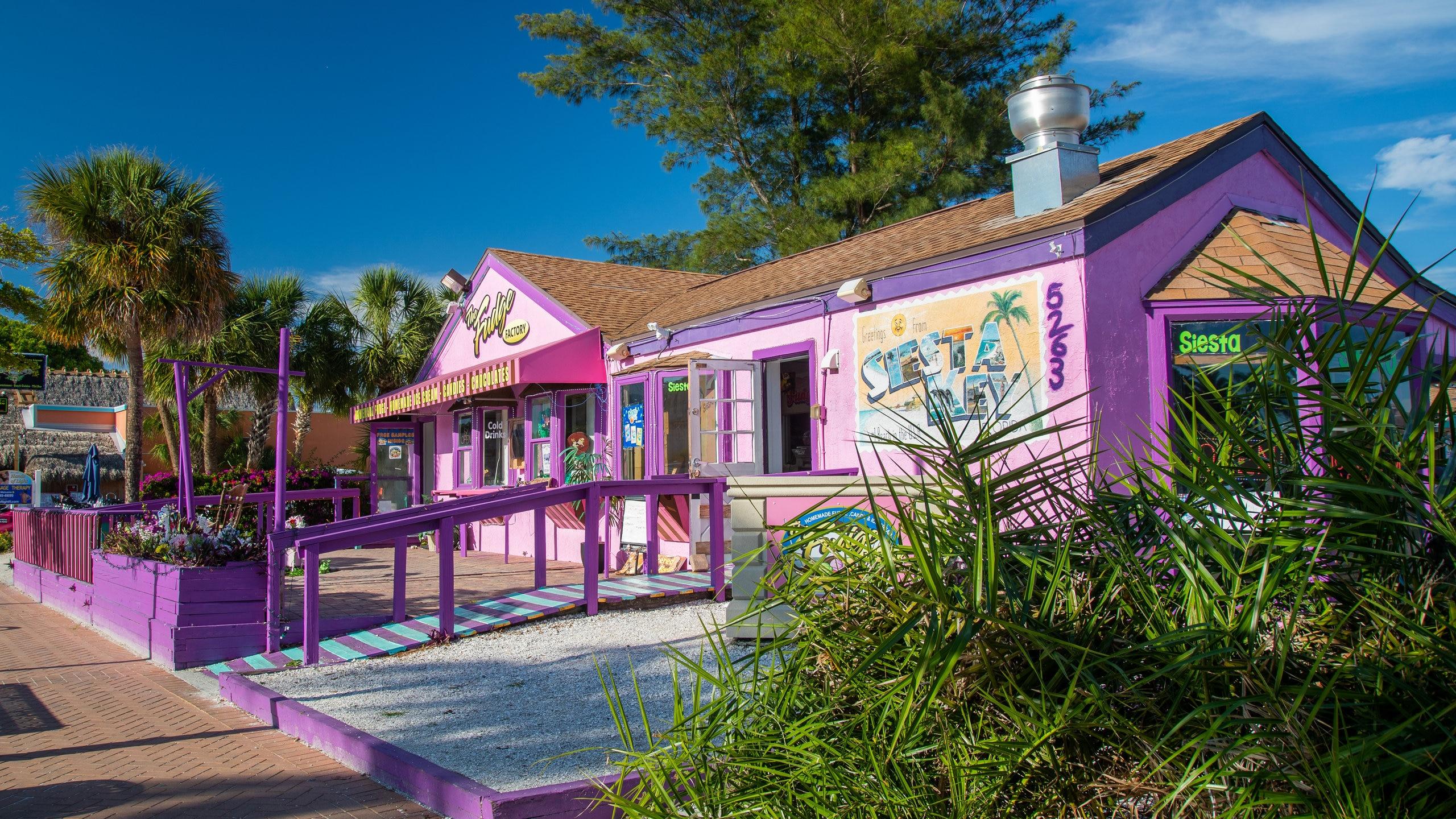 Siesta Key Village, Siesta Key, Florida, USA