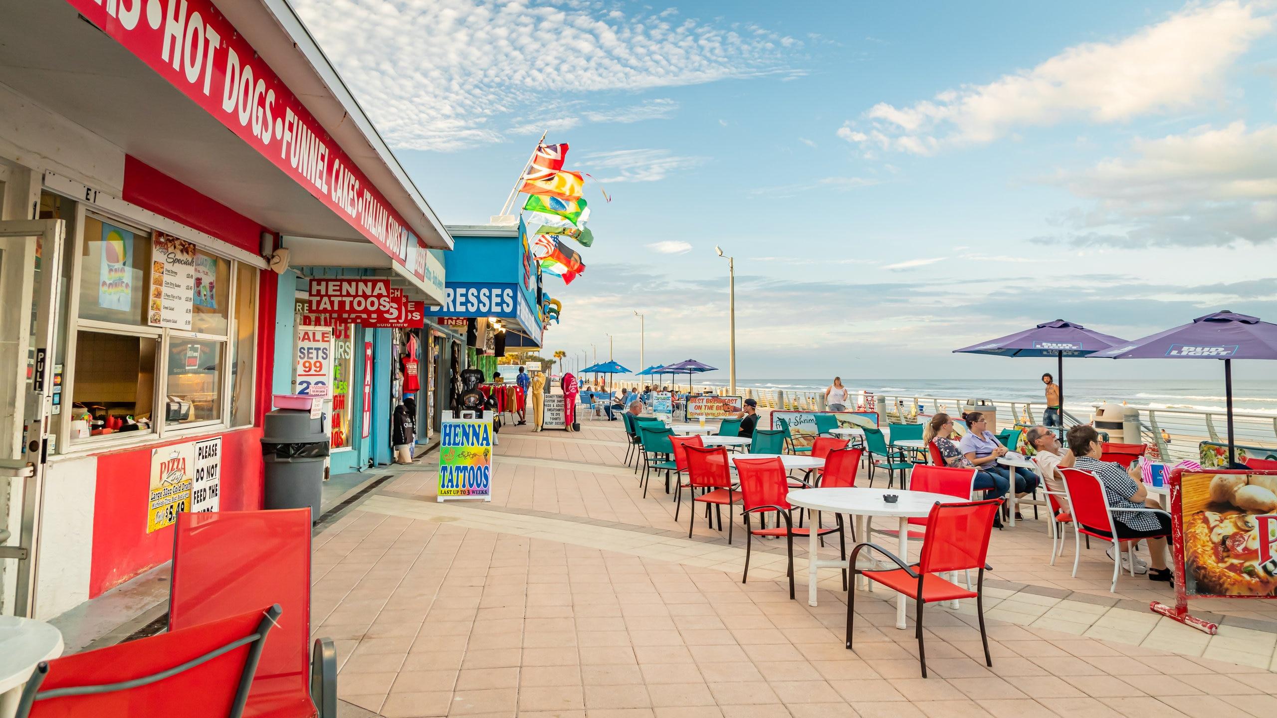 Daytona Beach Boardwalk, Daytona Beach, Florida, United States of America