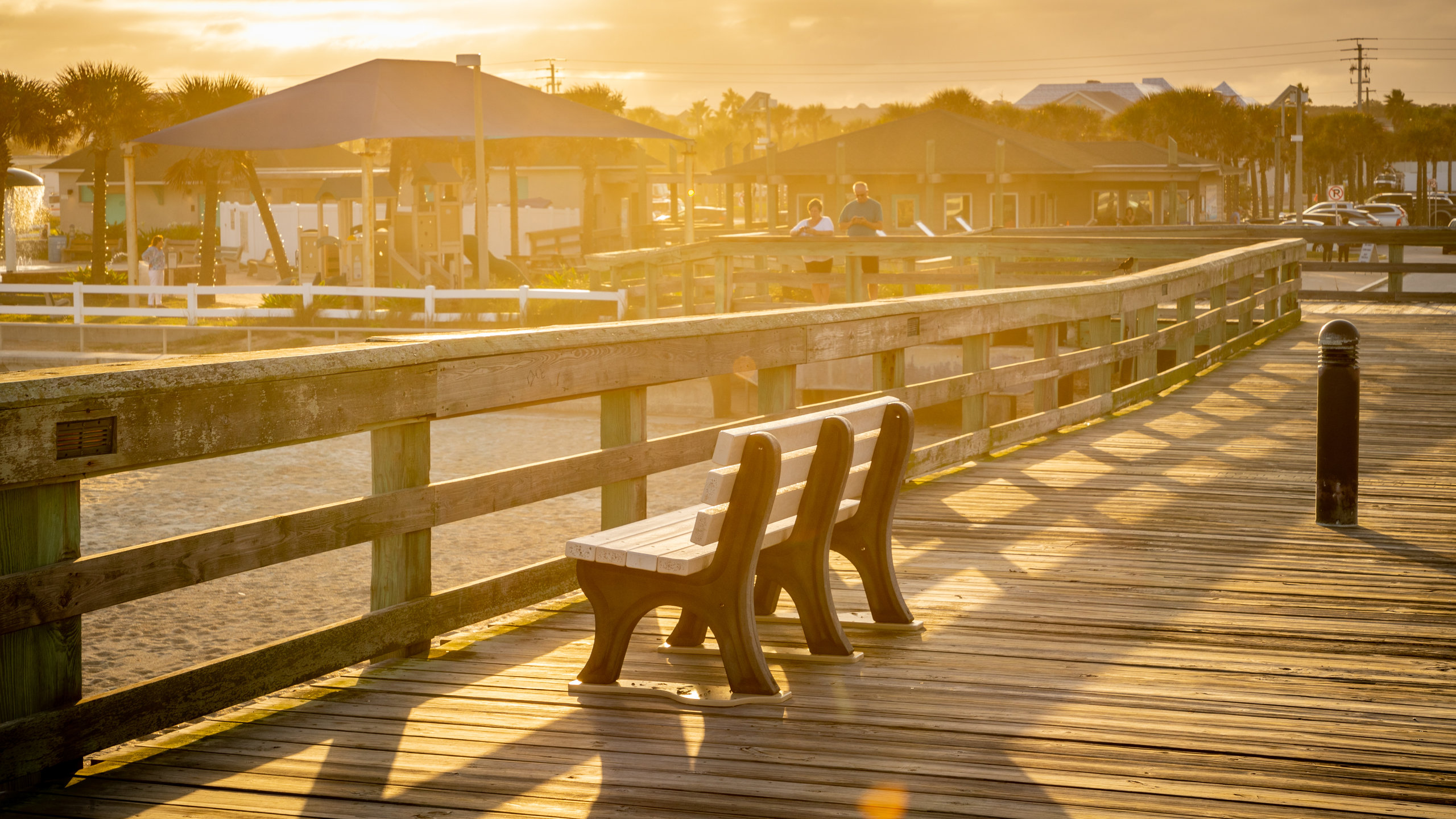 St. Johns County Ocean Pier, St. Augustine Beach, Florida, United States of America
