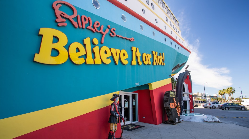 Ripley\'s Believe It or Not showing signage
