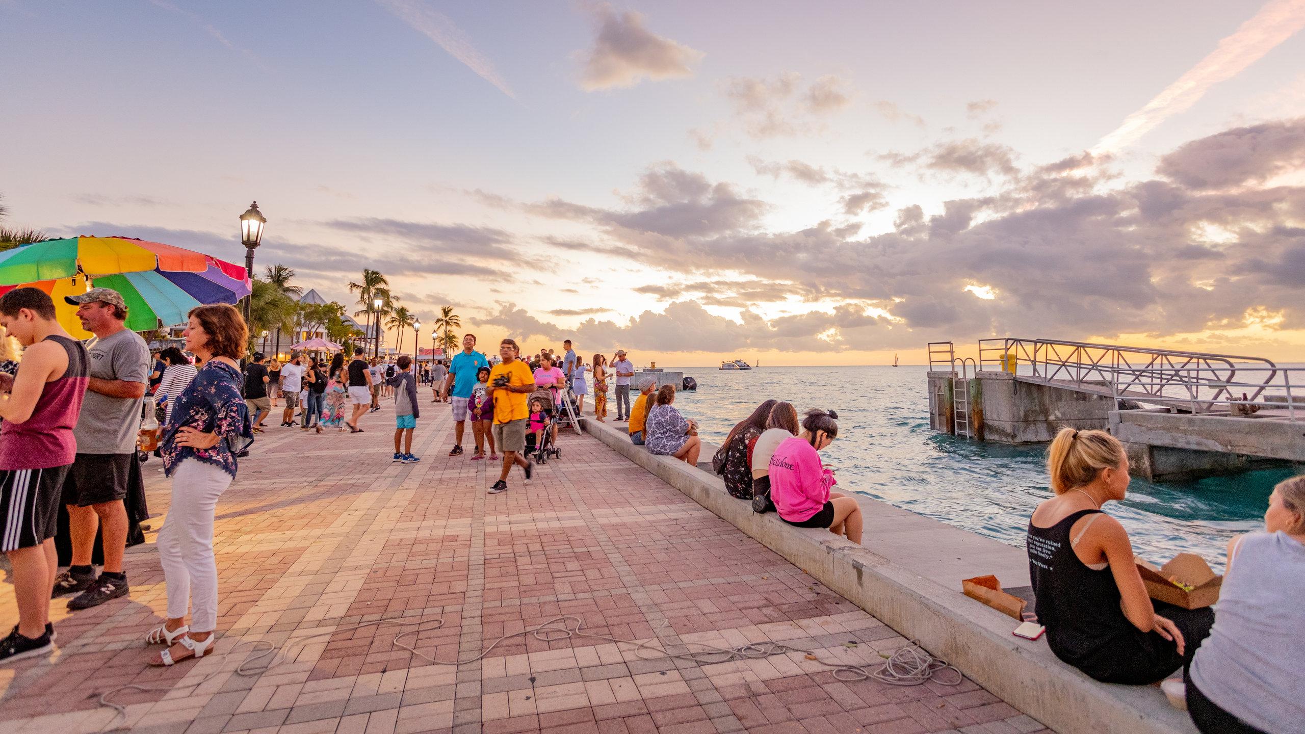 Mallory Square, Key West, Florida, United States of America