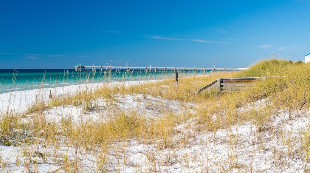 Fort Walton Beach featuring a sandy beach and general coastal views