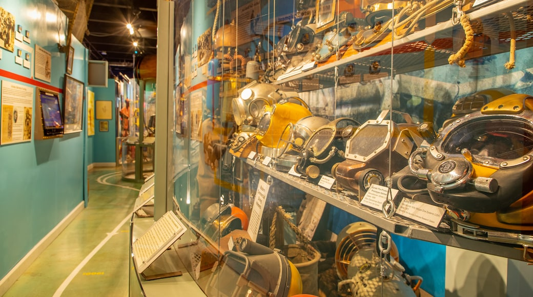 History of Diving Museum which includes heritage elements