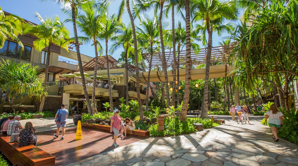Royal Hawaiian Center featuring a park and street scenes