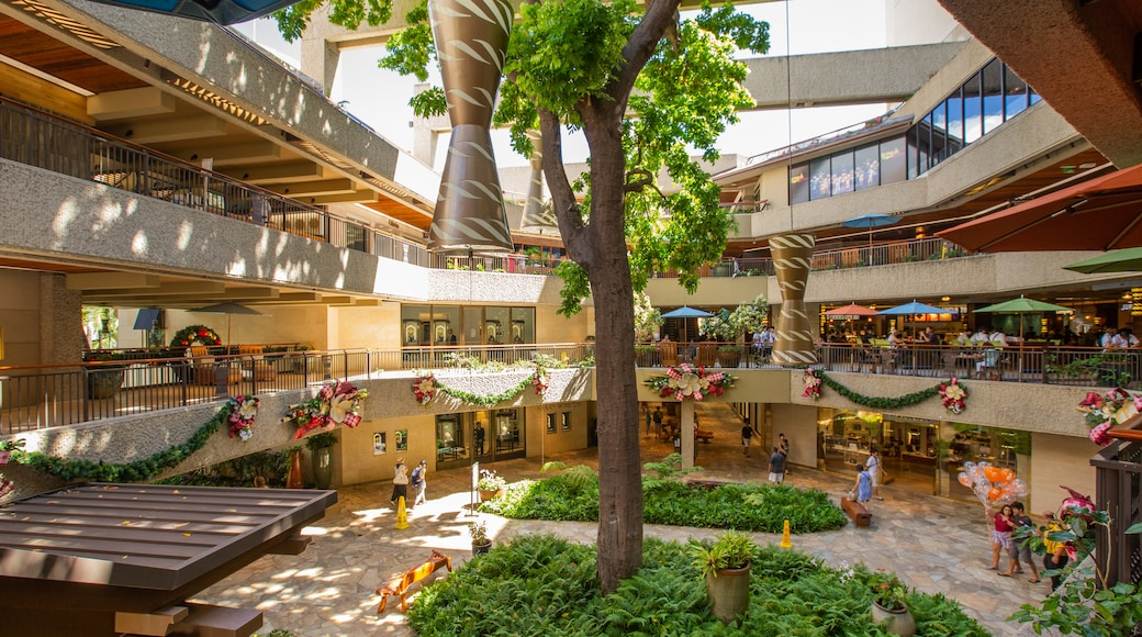 Royal Hawaiian Center which includes shopping