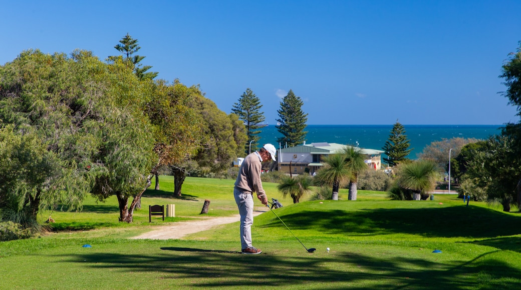 Cottesloe featuring golf as well as an individual male