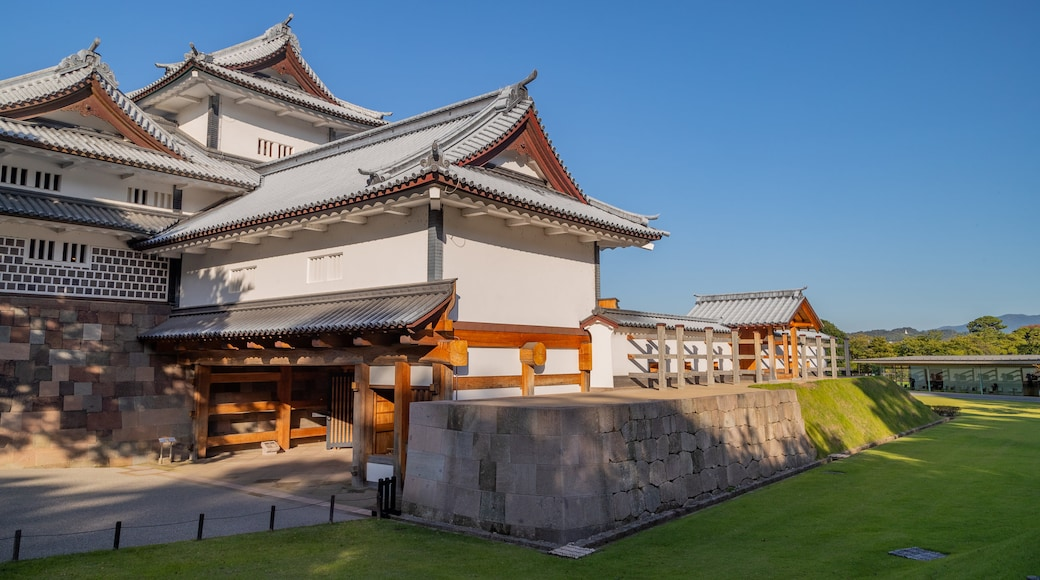 Kanazawa Castle which includes heritage architecture