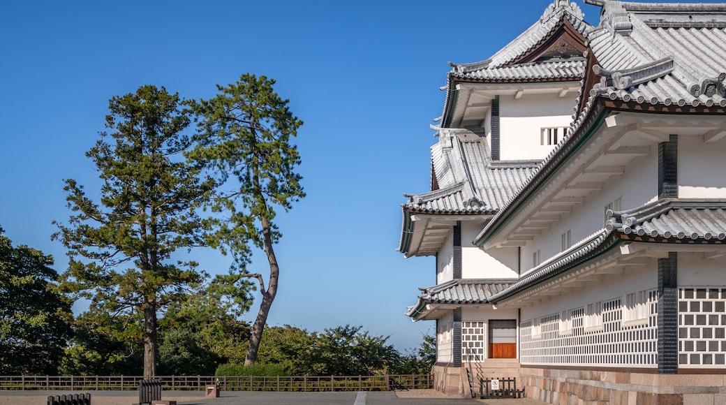 Kanazawa Castle showing heritage architecture