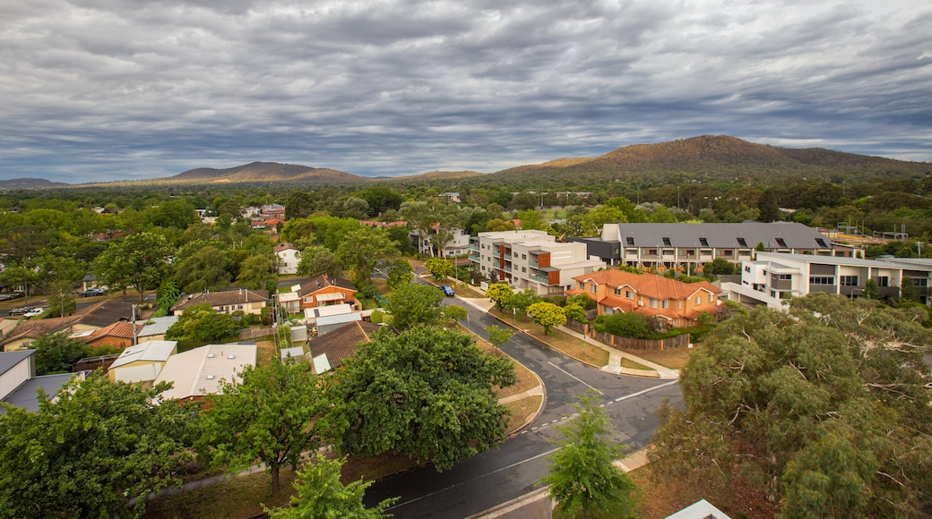 Braddon featuring a small town or village and landscape views