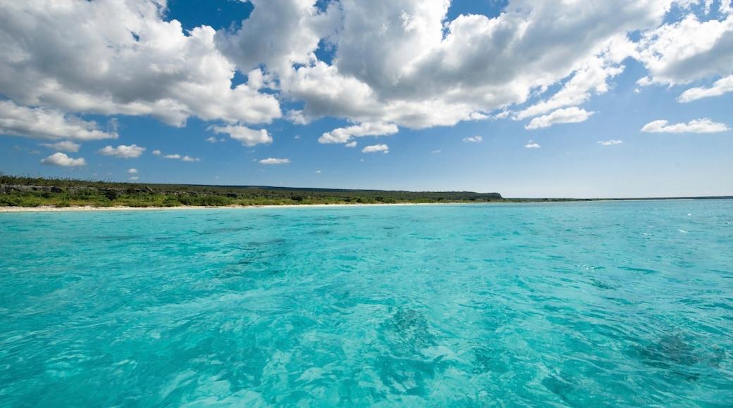 Barahona featuring tropical scenes, landscape views and general coastal views