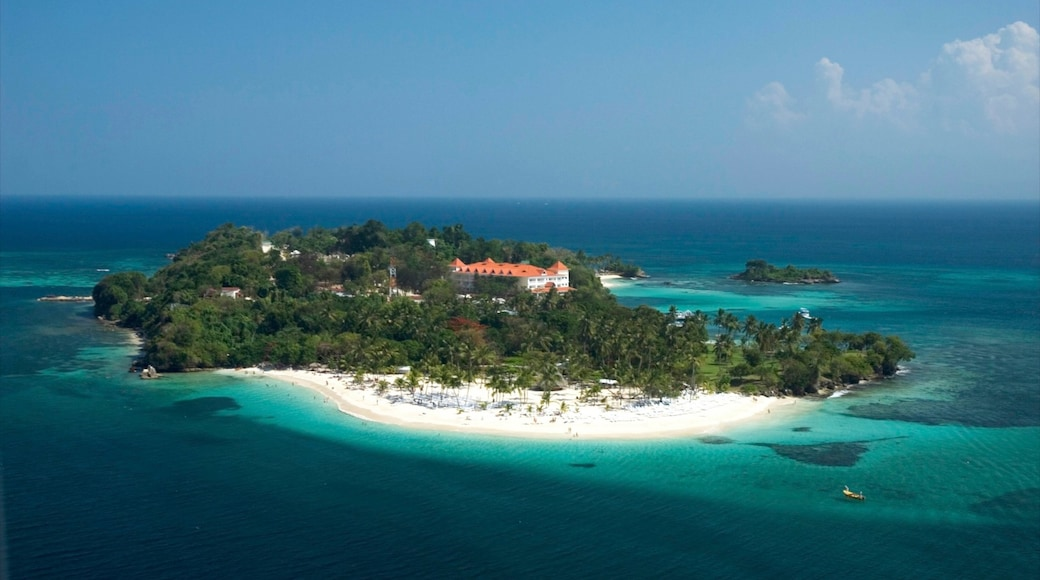 Dominican Republic which includes tropical scenes, a beach and landscape views