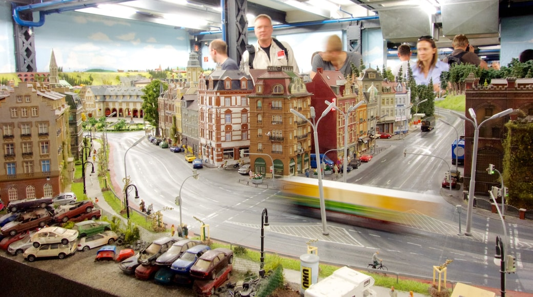 Miniatur Wunderland which includes rides and interior views