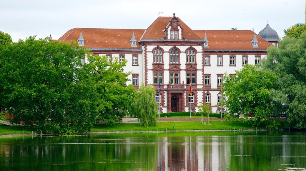 Kiel welches beinhaltet Verwaltungsgebäude, Palast oder Schloss und historische Architektur