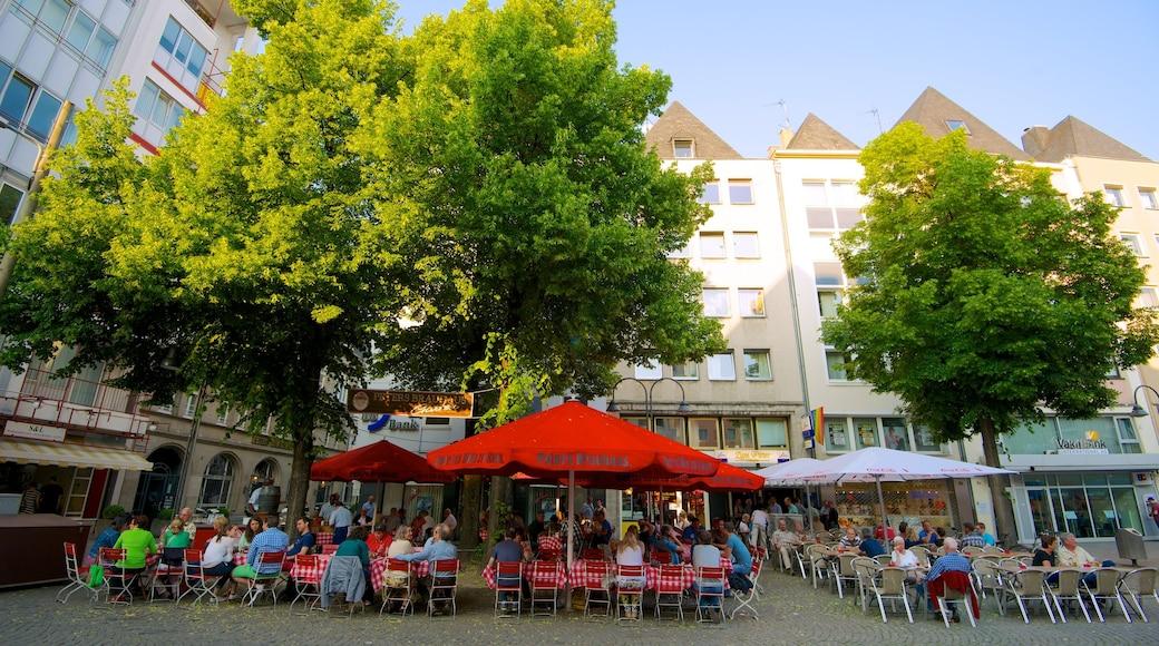 Alter Markt mostrando comidas al aire libre, mercados y una ciudad