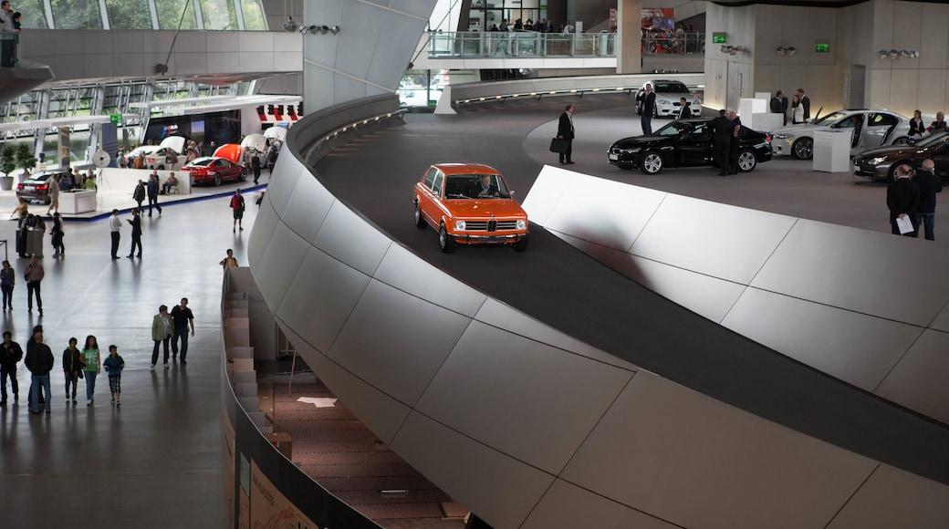 BMW Welt das einen Innenansichten