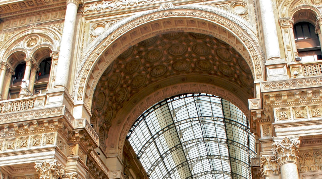 Galleria Vittorio Emanuele II which includes heritage architecture