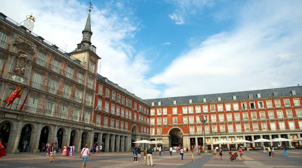 馬德里 其中包括 城市, 廣場 和 行政大樓