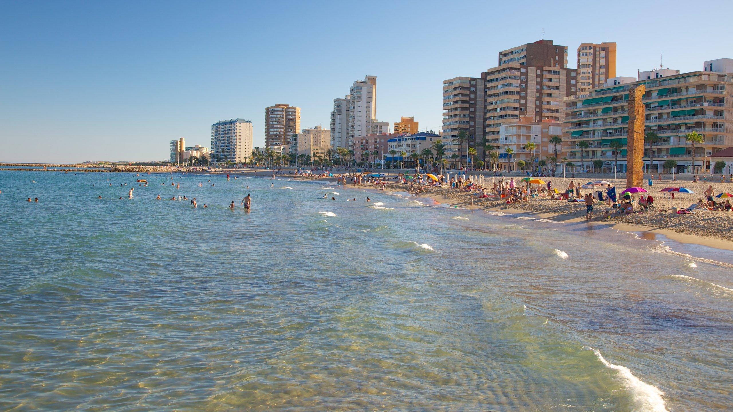 Playa Campello, El Campello, Valencianische Gemeinschaft, Spanien
