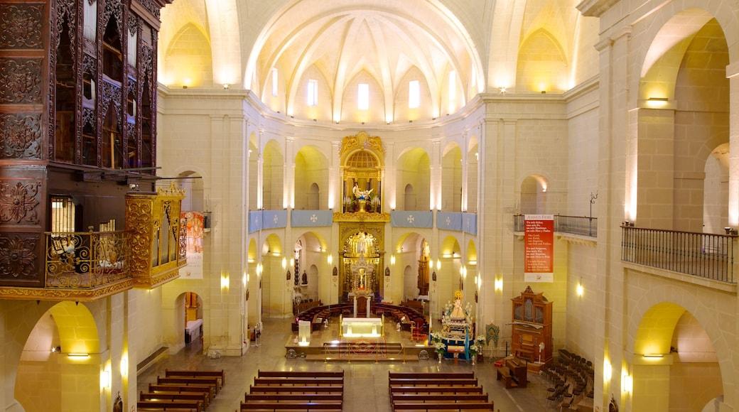 Catedral San Nicolás bevat religieuze elementen, historische architectuur en een kerk of kathedraal