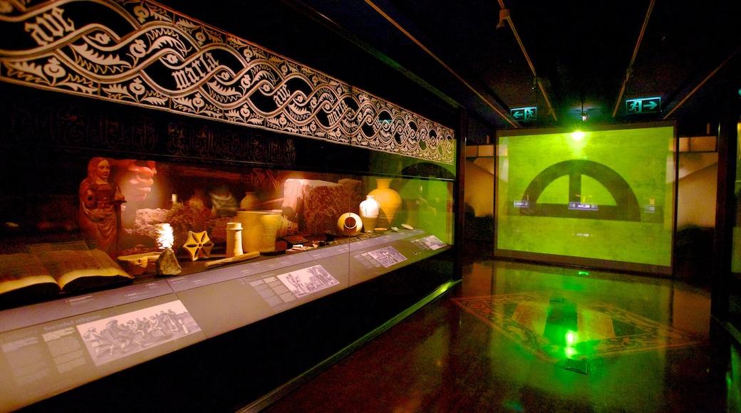 Museo Arqueológico de Alicante toont interieur