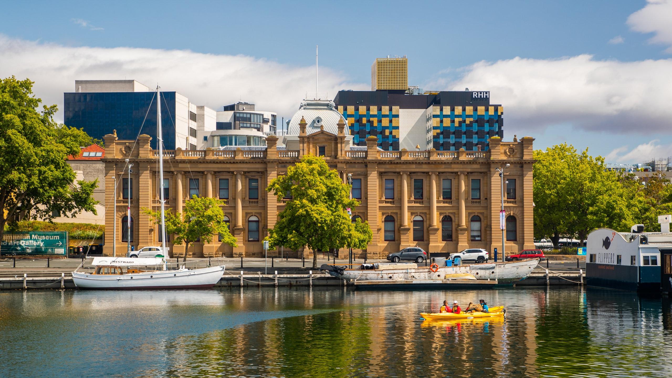Tasmanian Museum and Art Gallery, Hobart, Tasmanië, Australië