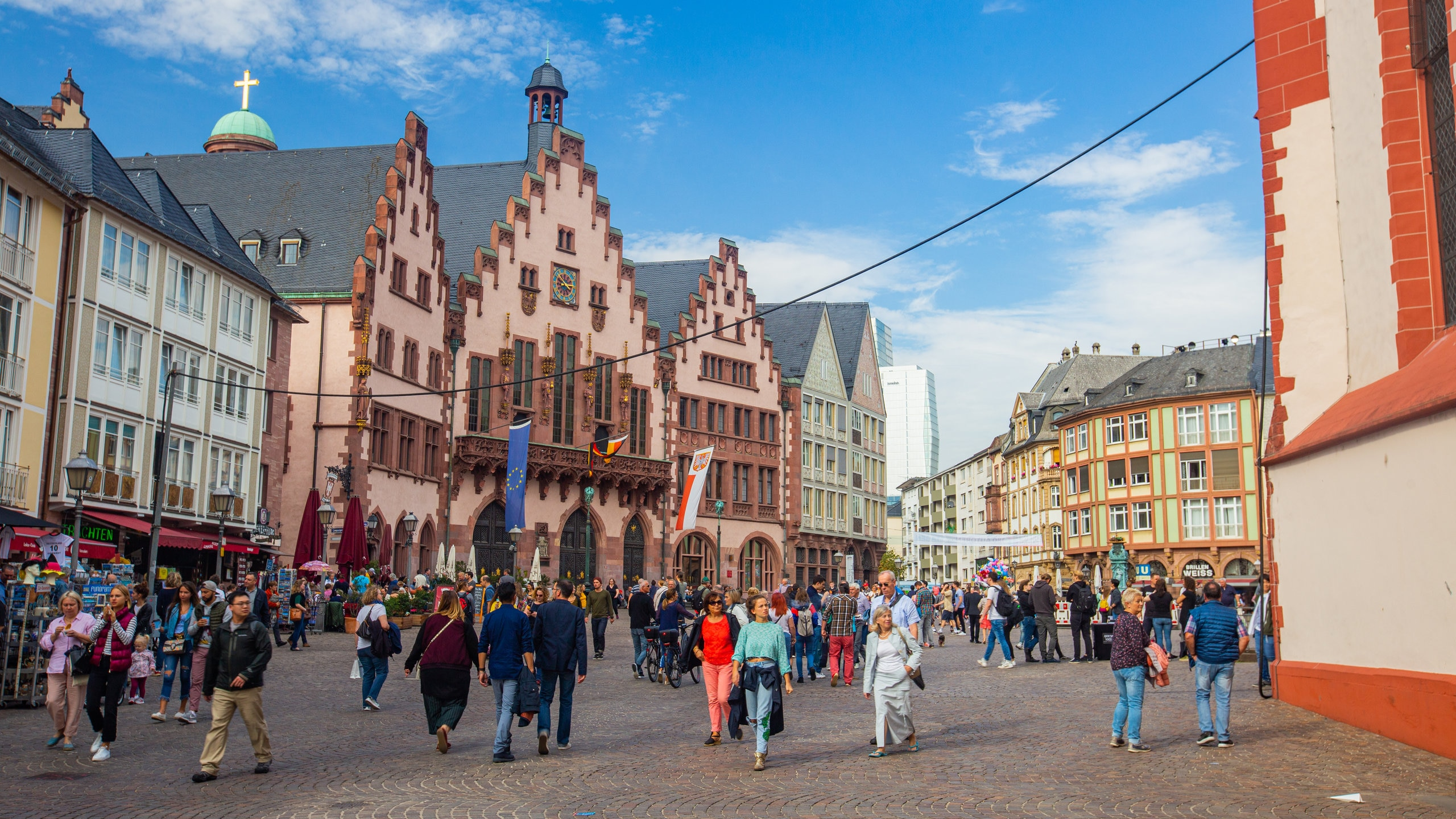 Frankfurt's leaders have met in this town hall since the 16th century. Visit to soak up the history and see snippets of daily life today.