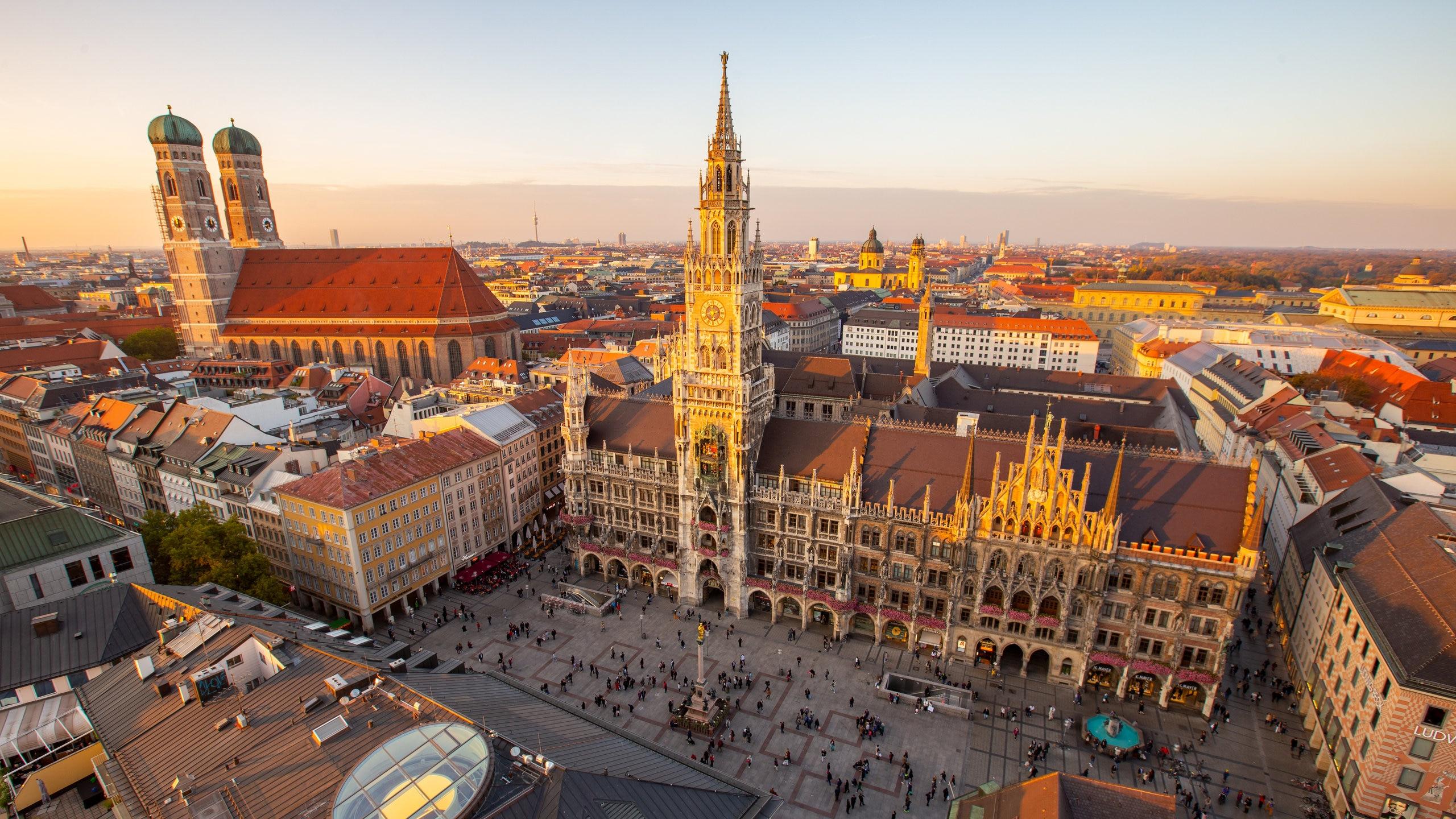 Marienplatz, München, Bayern, Deutschland